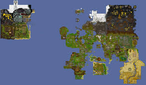 Map Qust The Clue World Map Quest Area U0027s Removed And Clues Overlaid