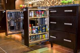 Kitchen Cabinet Space Saver Ideas Kitchen Storage Solutions Abound With Ingenuity And Semi Custom