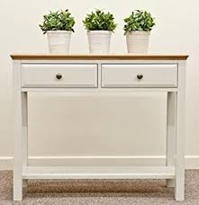 sanctuary 4 drawer console table avana painted furniture living room hall console table