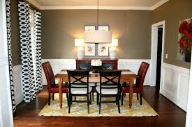 home design dining room paint ideas with chair rail modern
