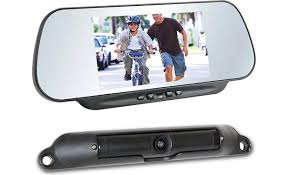 boyo vtc464rb clip on replacement mirror with wireless backup