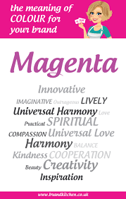 Meaning Of Color by The Meaning Of The Colour Magenta For Your Brand Brand Kitchen