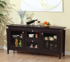 dining room sets with buffet amazon com furniture of america cedric modern buffet espresso