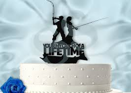 fishing wedding cake toppers fishing wedding cake topper wedding cakes wedding ideas and