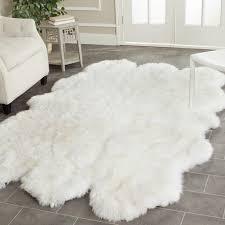 Sheepskin Runner Rug Faux Fur Rugs White Rug Designs