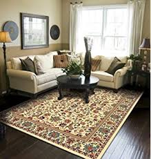 area rug in living room amazon com traditional area rug medallion green large rugs for