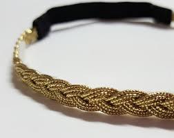 gold headband gold baby headband etsy