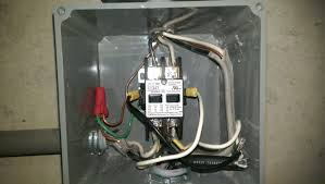 electrical correct wiring of float switch into two pole wired