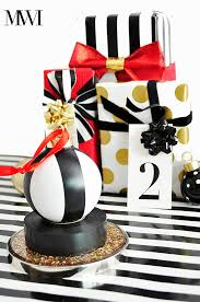 diy black white electrical ornament wants it