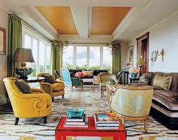 Open Seating Living Room Classic Opulent Open Plan Apartment Decorating Interior Ideas