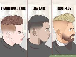types of fade haircuts image how to ask for a fade haircut 11 steps with pictures wikihow