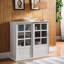 Kitchen Curio Cabinet White Kitchen Curio Cabinet Wayfair