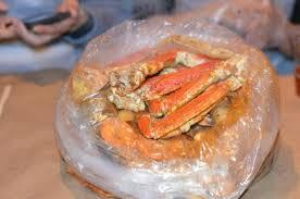cuisine en pot j boiling crab bag picture of j d s boiling pot fort tripadvisor