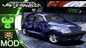 chrysler pt cruiser turbo nfs most wanted 2005 mod youtube