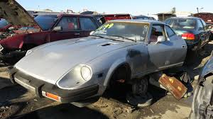 nissan 280z junkyard find 1981 datsun 280zx 2 2 the truth about cars