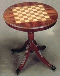 Chess Table Round Chess Table Foter