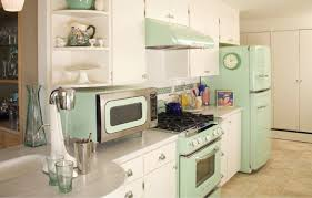 stylish retro style kitchen appliances and best 25 vintage kitchen