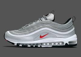 nike air silver the nike air max 97 silver bullet is given a u s release date