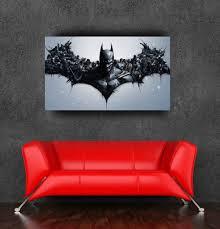 decorative vinyl wall stickers eat sleep play wrestle boy the dark knight rises batman logo wall sticker poster for walls 24x36inch adhesive to wall