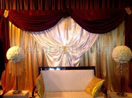 wedding backdrop gold decor rent wedding backdrop in gold white and burgundy