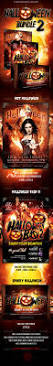 halloween party flyer bundle 2 download u2026 halloween flyer