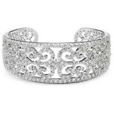 cuff bracelet jewelry images Kyra cubic zirconia cuff bridal bracelet anna bellagio jpg
