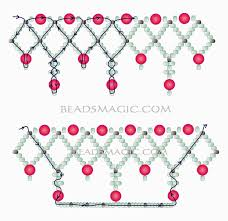 free pattern for necklace norma 2 u need seed beads 11 0