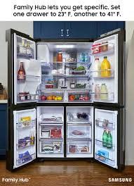 Kitchen Explore Your Kitchen Appliance by The Family Hub Refrigerator Lets You Store Your Favorite Foods The
