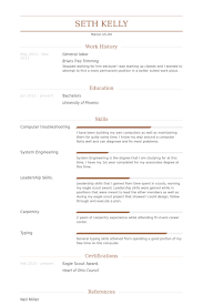 exles of general resumes general resume exles clever design general laborer resume 7