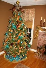 orange christmas tree decorations google search orange