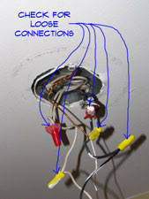 troubleshooting light fixture installation how to wire lights wiring electrical repair topics