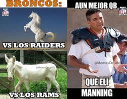 Memes De Los Broncos De Denver - feliz aniversario raiders y más en la semana 11 de la nfl viral