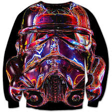 wholesale new movie star wars print 3d sweatshirt women men long