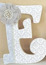 Decorated Letters For Nursery Letter E Baby Boy Nursery Decor Aqua E Name Nursery Decor