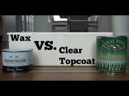 should i put a top coat on painted cabinets wax vs poly chalk paint which is better