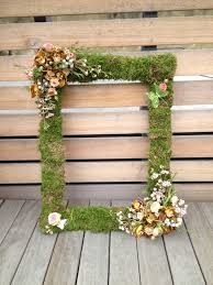 wedding backdrop stand uk mossed picture frame for guest photobooth www