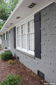 painting exterior brick home design ideas