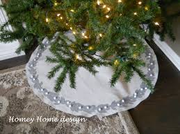 Black Tree Skirts Homey Home Design Christmas Tree Skirt Tutorial
