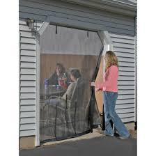 shelterlogic 16x7 u0027 garage door screen 184888 pest control at