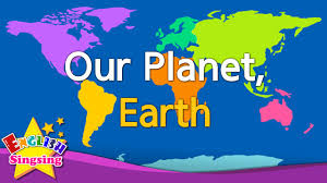 kids vocabulary our planet earth continents u0026 oceans