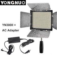 remote audio video lighting yongnuo yn300 ii yn 300 ll pro led video light lighting with remote
