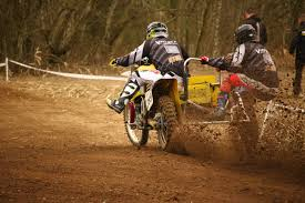 sidecar motocross racing white and yellow off road motorcycle with sidecar free image peakpx