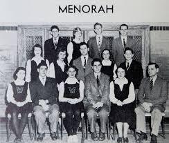 i leonard high school yearbook high school yearbook captures leonard cohen in menorah current