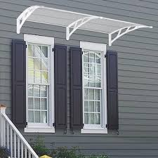 80 u0027 u0027x40 u0027 u0027 door window outdoor awning polycarbonate patio sun shade