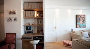 dans un bureau aménager un coin bureau dans un salon et optimiser l espace