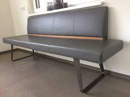 Esszimmerbank Gebraucht Voglauer Sitzbank Mit V Solid Db Gepolstert Lederbezug Der 6 Und