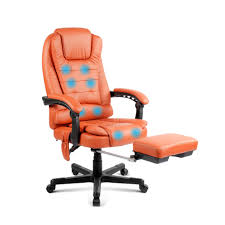 reclining office chair with footrest graysonline