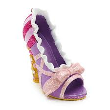 disney parks rapunzel miniature shoe ornament tangled