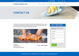 commercial cleaning website templates 11 best landscaping and