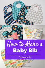 how to make a baby bib a diy tutorial baby bibs diy
